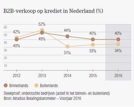 B2B verkoopkrediet NL