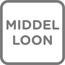 Pensioen middelloon icoon