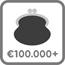 Pensioen 100.000 icoon