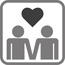 Pensioen trouwen icoon