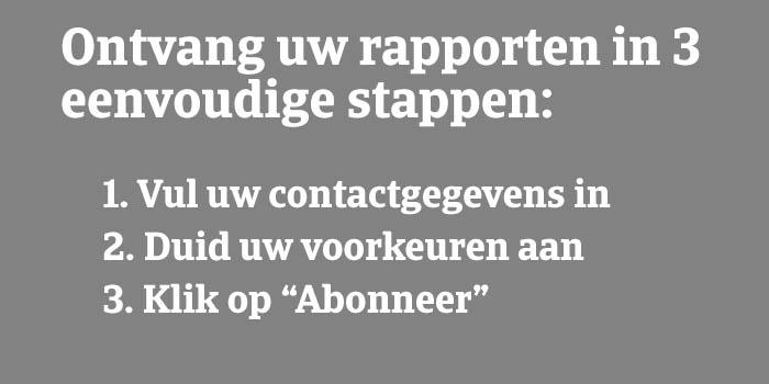 Subescribe in 3 steps Dutch